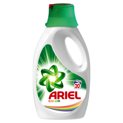 Kép Ariel Color Folyékony Mosószer, 1300 ml, 20 Mosáshoz