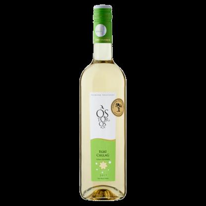 Kép Ostorosbor Egri Csillag klasszikus száraz fehérbor 12% 750 ml