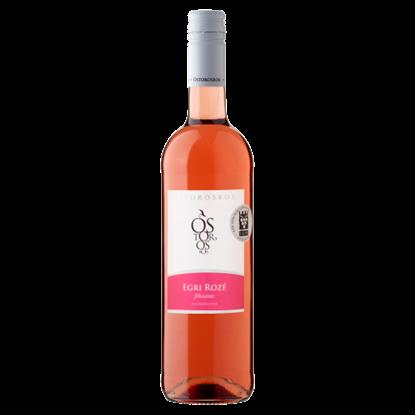 Kép Ostorosbor Egri Rozé klasszikus félszáraz rosébor 12% 750 ml