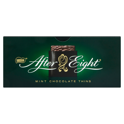 Kép Nestlé After Eight étcsokoládéval mártott mentolízű fondan lapocskák 200 g