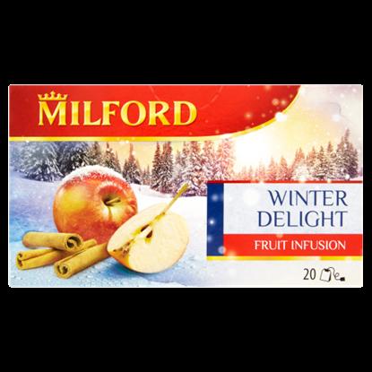 Kép Milford Téli Öröm fahéj-alma ízű gyümölcstea 20 filter 50 g