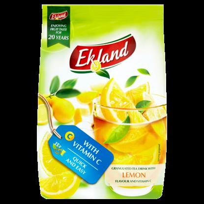Kép Ekland azonnal oldódó citrom ízű tea-italpor C-vitaminnal 300 g