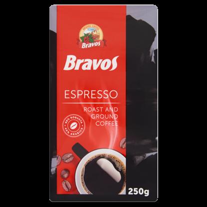 Kép Bravos Espresso őrölt pörkölt kávé 250 g