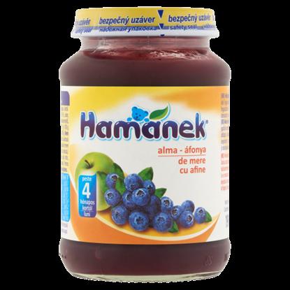 Kép Hamánek alma-áfonya bébidesszert 4 hónapos kortól 190 g