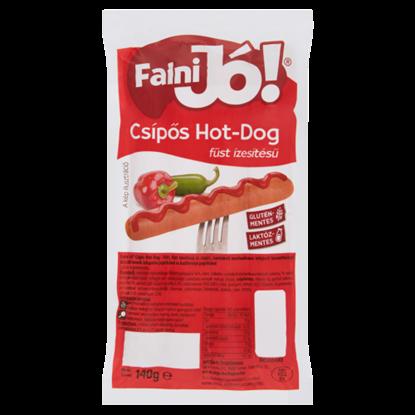 Kép Falni Jó! füst ízesítésű csípős hot-dog 140 g