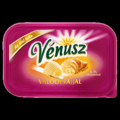 Kép Vénusz Valódi Vajjal margarin és vaj csökkentett zsírtartalmú keveréke 400 g