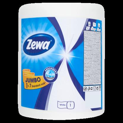 Kép Zewa Jumbo 1 tekercses háztartási papírtörlő 325 lap/tekercs