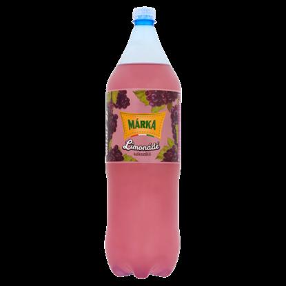 Kép Márka Limonádé kékszőlő ízű szénsavas üdítőital cukorral és édesítőszerekkel 2 l