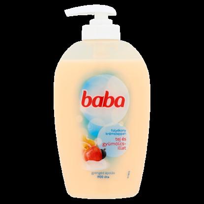 Kép Baba tej és gyümölcsillat folyékony krémszappan 250 ml
