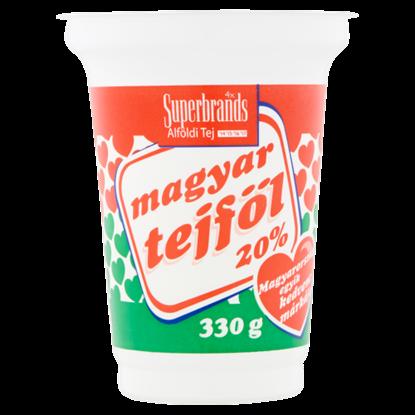 Kép Magyar Tejföl 20%-os tejföl 330 g