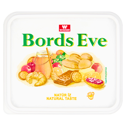 Kép Bords Eve natúr, csökkentett zsírtartalmú margarin 500 g