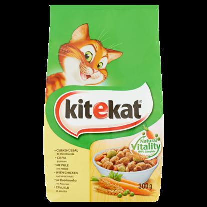 Kép Kitekat teljes értékű állateledel macskáknak csirkehússal és zöldségekkel 300 g
