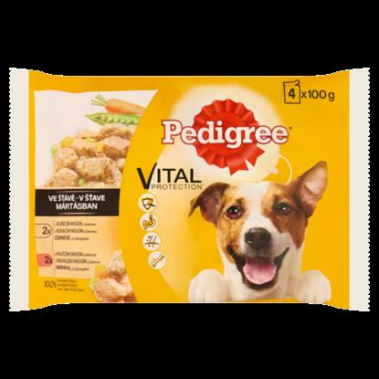Kép Pedigree Vital Protection teljes értékű állateledel felnőtt kutyák számára mártásban 4 x 100 g