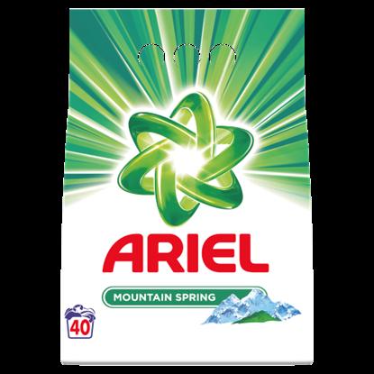 Kép Ariel Mountain Spring Mosópor, 3 kg, 40 Mosáshoz