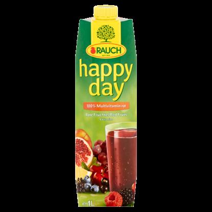 Kép Rauch Happy Day 100% multivitamin vegyes gyümölcslé vegyes gyümölcslésűrítményekből 8 vitaminnal 1 l