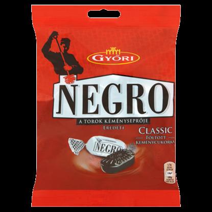 Kép Győri Negro Classic töltött keménycukorka 159 g