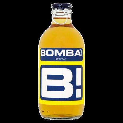 Kép BOMBA! magas koffeintartalmú, tuttifrutti-ízű szénsavas ital cukorral és édesítőszerrel 250 ml