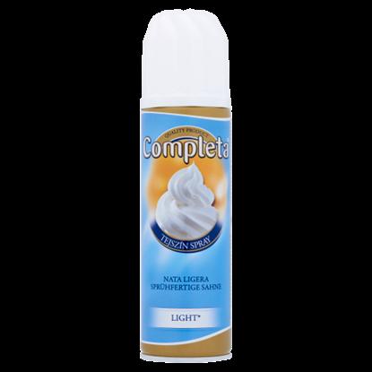 Kép Completa Light UHT cukrozott tejszín spray csökkentett zsírtartalommal 18% 250 ml