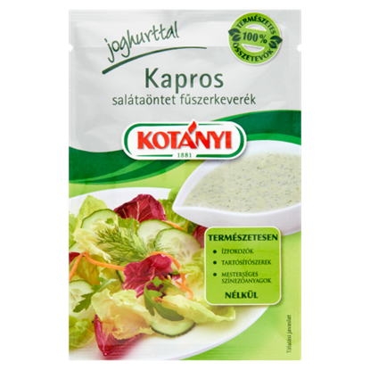 Kép Kotányi kapros salátaöntet fűszerkeverék 13 g
