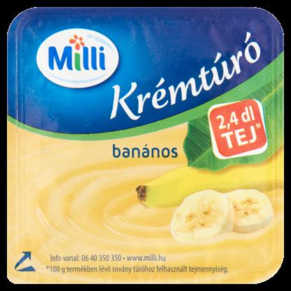 Kép Milli banános krémtúró 90 g