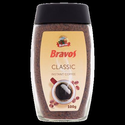 Kép Bravos Classic azonnal oldódó kávé granulátum 100 g