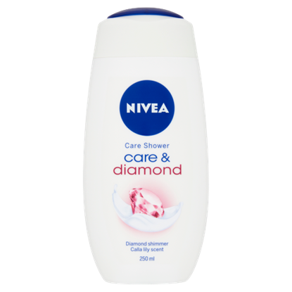 Kép NIVEA Care & Diamond krémtusfürdő 250 ml