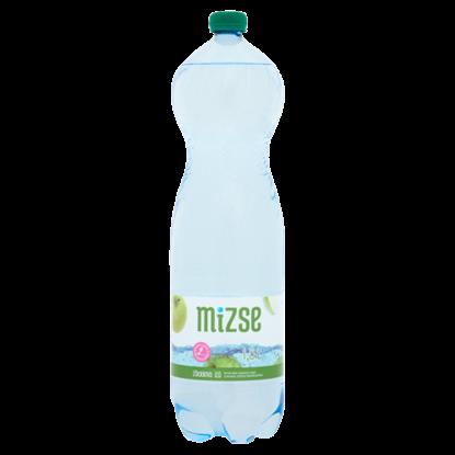 Kép Mizse zöldalma ízű, természetes ásványvíz alapú, szénsavas üdítőital édesítőszerekkel 1,5 l