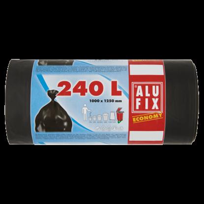 Kép Alufix Economy szemeteszsák 240 l 10 db
