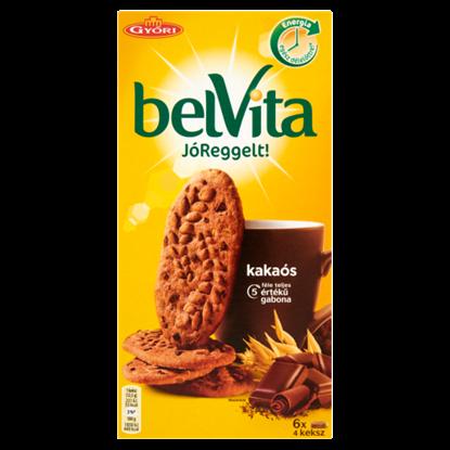 Kép belVita JóReggelt! kakaós gabonás omlós keksz csokoládé darabokkal 300 g