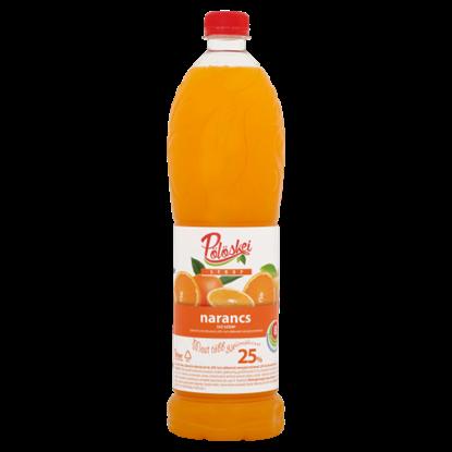 Kép Pölöskei narancs ízű szörp cukorral és édesítőszerrel 1 l