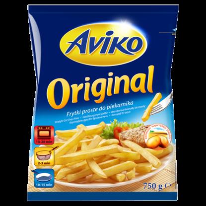 Kép Aviko Original elősütött, gyorsfagyasztott hasábburgonya sütőbe 750 g