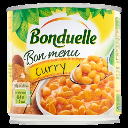 Kép Bonduelle Bon Menu Curry fehérbab curry mártásban 430 g