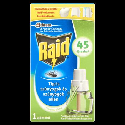 Kép Raid szúnyogirtó utántöltő folyadék citronella illattal 31 ml