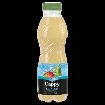 Kép Cappy Ice Fruit Apple-Pear szénsavmentes vegyesgyümölcs ital bozdavirág ízesítéssel 500 ml