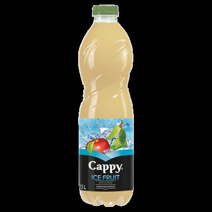 Kép Cappy Ice Fruit Apple-Pear szénsavmentes vegyesgyümölcs ital bozdavirág ízesítéssel 1,5 l