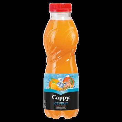 Kép Cappy Ice Fruit Multivitamin szénsavmentes vegyesgyümölcs ital mangosztán ízesítéssel 500 ml