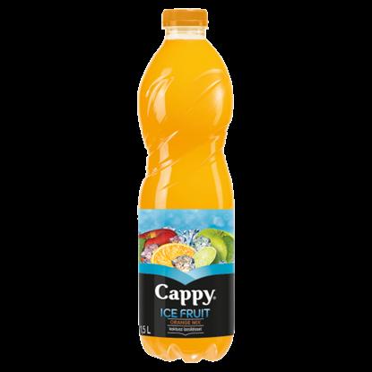 Kép Cappy Ice Fruit Orange Mix szénsavmentes vegyesgyümölcs ital kaktusz ízesítéssel 1,5 l