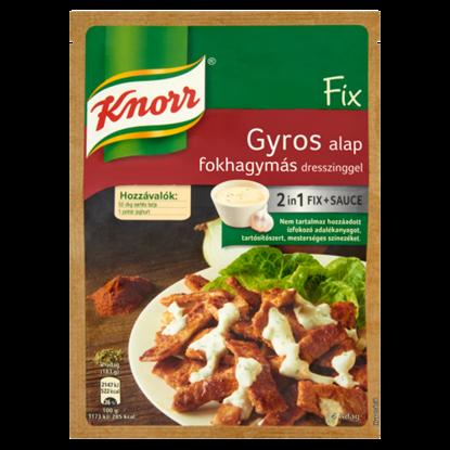 Kép Knorr Fix gyros alap fokhagymás dresszinggel 40 g