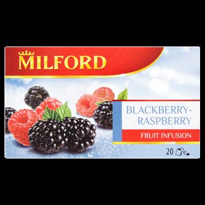 Kép Milford Fruit Infusion szeder-málna ízű gyümölcstea 20 filter 50 g