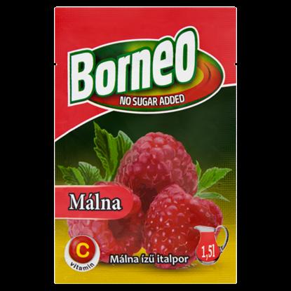 Kép Borneo málna ízű italpor hozzáadott cukor nélkül, édesítőszerrel 9 g