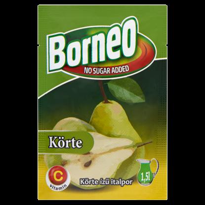 Kép Borneo körte ízű italpor hozzáadott cukor nélkül, édesítőszerrel 9 g