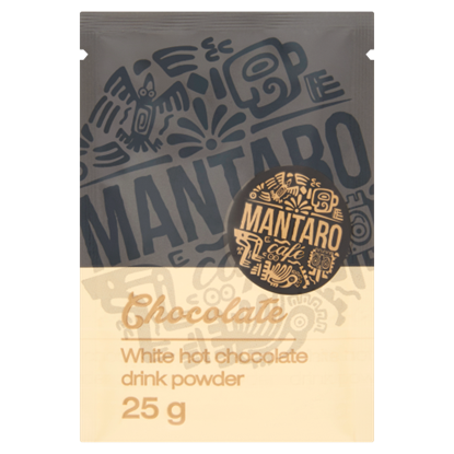 Kép Mantaro Café Chocolate forró fehér csokoládé italpor 25 g