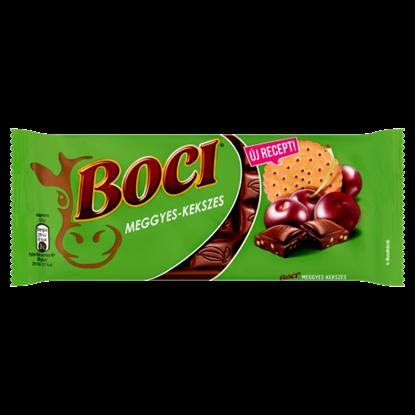 Kép Boci meggyes-kekszes tejcsokoládé 90 g