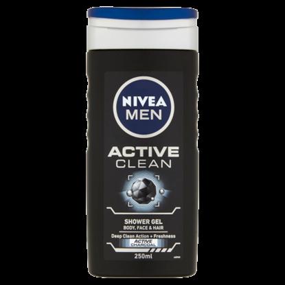 Kép NIVEA MEN Active Clean tusfürdő 250 ml