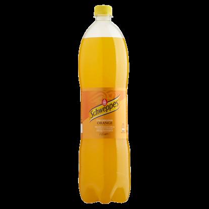 Kép Schweppes csökkentett energiatartalmú narancs szénsavas üdítőital 1,5 l