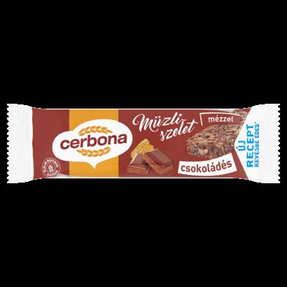 Kép Cerbona csokoládés müzliszelet 20 g