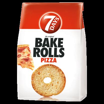 Kép 7DAYS Bake Rolls pizza ízű kétszersült 80 g