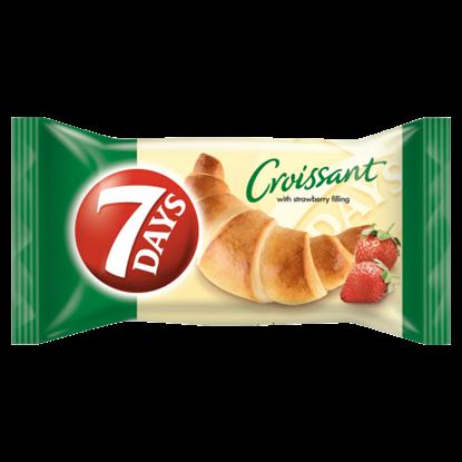 Kép 7DAYS croissant epres töltelékkel 60 g