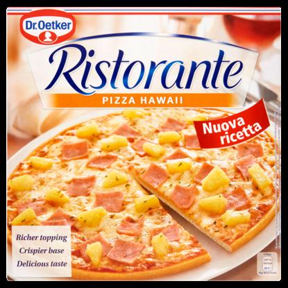 Kép Dr. Oetker Ristorante Pizza Hawaii gyorsfagyasztott ananászos-sonkás-sajtos pizza 355 g
