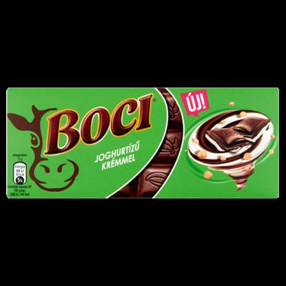Kép Boci joghurtízű krémmel töltött tejcsokoládé ropogós búzapehellyel 85 g